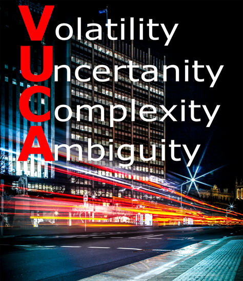How do we live in a VUCA world?