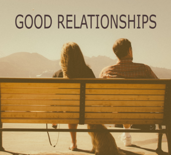 Good relationships keep us happy!