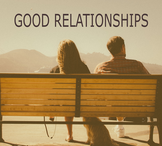 Good relationships keep us happy!