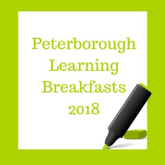 2018 Peterborough Learning Breakfast Invitation on 28th September